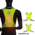 Reflective Jacket Clothing Cloth with Led Light